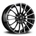 Racing Wheels H-429 6.5x15 5*105 ET 35 dia 56.6 BK/FP