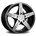 Racing Wheels H-458 7x17 5*114.3 ET 45 dia 67.1 BK/FP