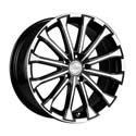 Racing Wheels H-461 7x17 5*112 ET 45 dia 66.6 BK/FP