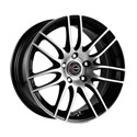 Racing Wheels H-478 7x16 4*114.3 ET 40 dia 67.1 BK/FP