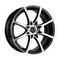 Racing Wheels H-480 6.5x15 4*114.3 ET 38 dia 67.1 W-OBK F/P