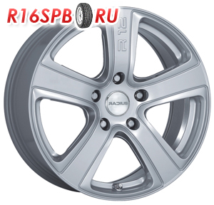 Литой диск Radius R12 SILVER  NAKED