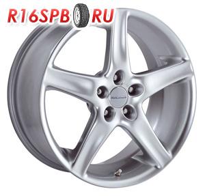 Литой диск Radius R6 SHINY SILVER 7.5x17 5*114.3 ET 35