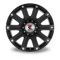 Replikey 1015 9x20 5*150 ET 35 dia 110.5 Matt Black
