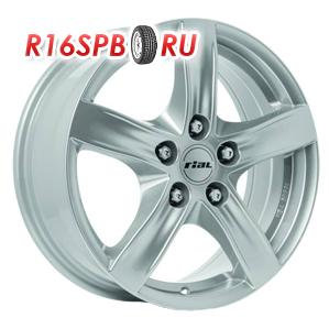 Литой диск Rial Arktis 7.5x17 5*108 ET 52 Polar Silver