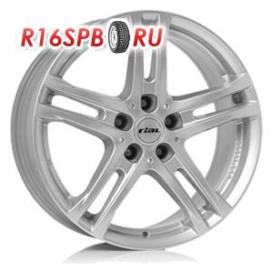Литой диск Rial Bavaro 6.5x16 5*112 ET 46 Polar Silver