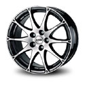 Rial Bari 7.5x16 5*112 ET 38 dia 70.1 Diamond Black Front Polished