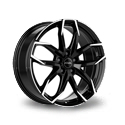 Rial Lucca 7.5x17 5*114.3 ET 50 dia 67.1 Diamond Black Front Polished