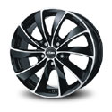 Rial Lugano 7.5x16 5*112 ET 38 dia 70.1 Diamond Black Front Polished