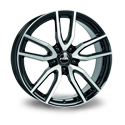 Rial Torino 8x18 5*108 ET 45 dia 70.1 Diamond Black Front Polished