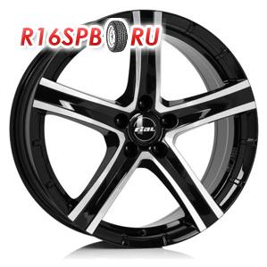 Литой диск Rial Quinto 8x18 5*114.3 ET 35 Diamond Black Front Polished
