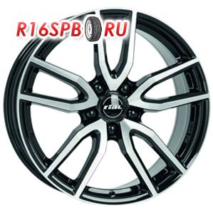 Литой диск Rial Torino 7.5x17 5*112 ET 48 Diamond Black Front Polished