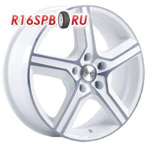 Литой диск Скад Драйв 6.5x16 5*114.3 ET 45 алмаз белый