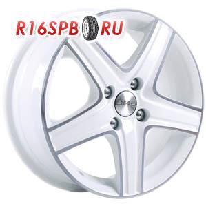 Литой диск Скад Магнум 5.5x14 4*100 ET 49 алмаз белый
