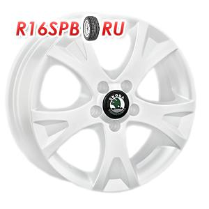 Литой диск Replica Skoda SK5 6x15 5*100 ET 38 W