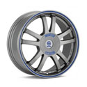 Sparco Rally 7.5x17 5*114.3 ET 45 dia 73.1 Matt Silver Tech