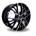 TG Racing LZ742 6.5x16 5*108 ET 50 dia 63.4 MATT BLACK POL