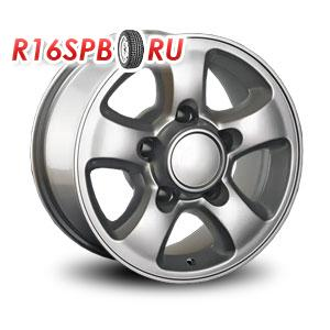 Литой диск Replica Toyota TY7 7x15 6*139.7 ET 30