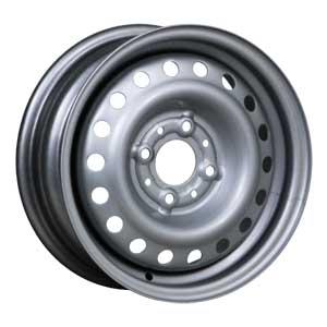 Штампованный диск Trebl 64E45H 6x15 4*114.3 ET 45