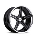 TSW Mirabeau 8x18 5*120 ET 35 dia 76 Black Polished