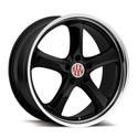 TSW Victor Turismo B 10x20 5*130 ET 50 dia 71 Black Polished