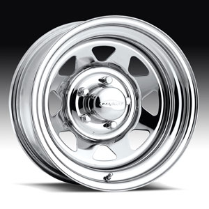 Штампованный диск U.S. Wheels Series 75 Chrome Spoke 8x16 5*139.7 ET -6