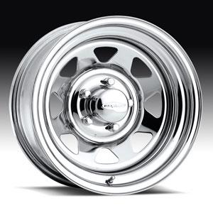 Штампованный диск U.S. Wheels Series 75 Chrome Spoke 7x15 5*114.3 ET 12