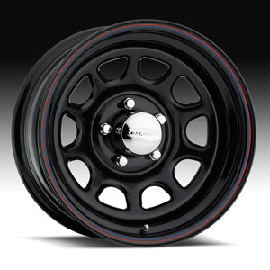 Штампованный диск U.S. Wheels Series 84 Black Daytona 7x16 5*114.3 ET 0