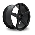 Vissol F-505 8.5x20 5*114.3 ET 38 dia 73.1 Gloss Black