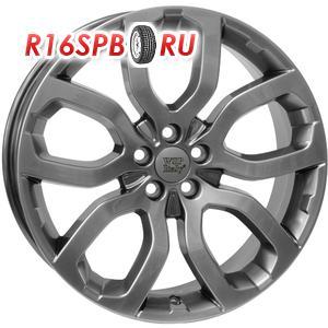 Литой диск WSP Italy LR W2357 8x18 5*108 ET 45 темное серебро