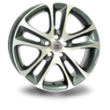 WSP Italy V W1255 7.5x18 5*108 ET 52.5 dia 65.1 Anthracite Polished