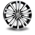 WSP Italy VW W462 7.5x17 5*112 ET 49 dia 57.1 Black-P