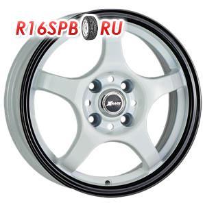 Литой диск X-Race AF-05 5.5x14 4*100 ET 49 Bright Silver