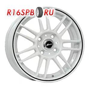 Литой диск X-Race AF-06 5.5x14 4*100 ET 49 Bright Silver