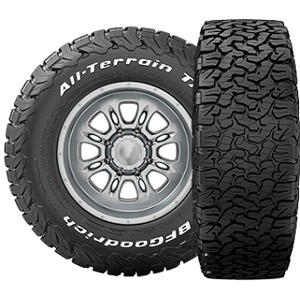 Всесезонная шина BFGoodrich All Terrain TA KO2 265/70 R16 121/118S