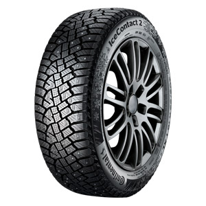 Зимняя шипованная шина Continental ContiIceContact 2 255/40 R19 100V XL