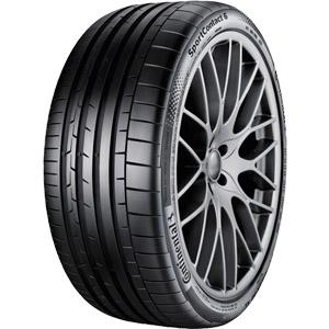 Летняя шина Continental SportContact 6 235/35 R19 91Y