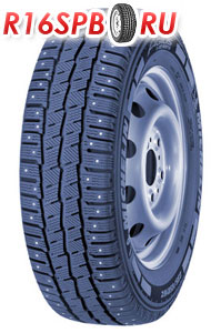 Зимняя шипованная шина Michelin Agilis X-Ice North 225/75 R16C 121/120R