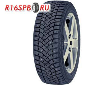 Зимняя шипованная шина Michelin Latitude X-Ice North 2 plus 255/50 R19 107T XL