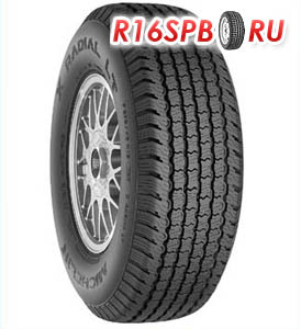 Всесезонная шина Michelin X-Radial LT 205/70 R14 93S