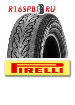 Зимняя шипованная шина Pirelli Chrono Winter 195/75 R16C 107/105R
